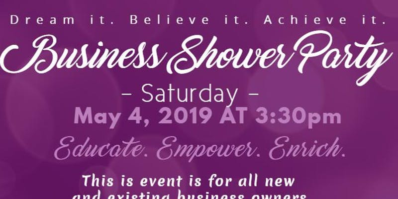 Let's Work Together.. It's a Business Shower with TJInspires  Sat, May 4, 2019